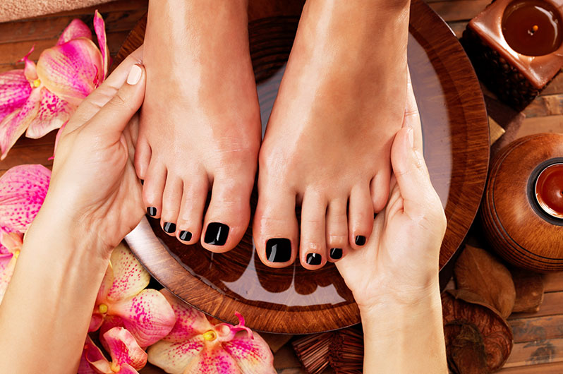 House of Beauty Hair Salon and Spa Pedicure Services